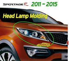 Head Lamp Molding Chrome Garnish Trim Light 2P K-953 for Kia 2011~2016 Sportage