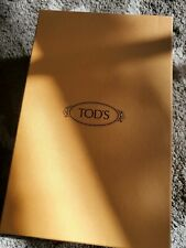 "100% Authentic Tod's Sturdy Empty Shoe Box 12"" x 7.5"" x 4 "" 3 Ribbons Include"