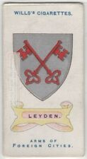 Leyden  Leiden Netherlands Holland City Coat Of Arms 100+ Y/O  Ad Trade Card