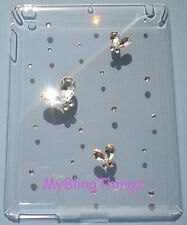 XL Crystal Diamond Clear Back Case for Apple iPad 2 made with Swarovski Elements