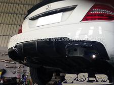 2012-2014 C63 AMG Carbon Fiber Bumper Diffuser For W204 C250 C300 C350 C63AMG