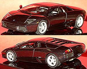 Lamborghini Murcielago Black Black Metallic 1:43 Autoart