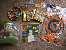 OTC Swingin' Swinging Safari BIRTHDAY Party Supplies Plates Napkins Games LOT
