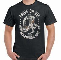 Mma Camiseta Gimnasio Boxeo Orgullo O Die Hombre Divertido Training Top Muay Tai