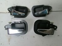 BMW E36 M3 3.2 chrome interior door handles 4 door saloon 328 323 318 rare
