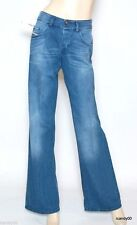 Nwt Diesel VIXY 008LB Wide Leg Relax Fit Mid Rise Stretch Jeans Pants 24x32