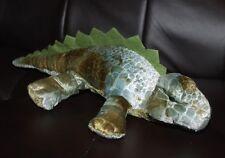 "Six Flags Stegasaurus Dinosaur Green Dino Plush Stuffed Animal 12"" Prize Toy"