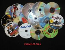 Lot of 100 Loose DVD's: Drama Action Comedy Movies