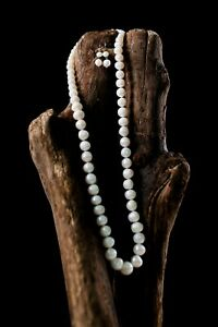 Classic Borneo Fresh Water Pearls Necklace Set with FREE Earrings