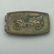 Vintage ANSON Signed Patented Old Time Automobile Car Money Clip  R6