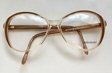 YSL YVES SAINT LAURENT VTG PHEDRE Eyeglasses Lunette Brille Occhiali Gafas