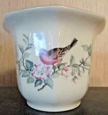 "Beautiful & Vintage Lenox Fine Ivory China ""Serenade"" 4 1/2"" Tall Planter Usa."