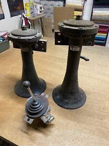 Nathan Airchime Air Horns Fully Working X 4 Private Sale Bennie Bargains