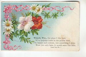 A Poem about Walcott WY