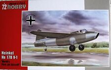 Special Hobby 1/72 SH72321 Heinkel He178V-1 'First Jet Aircraft'