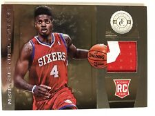 2013-14 Panini Totally Certified Gold Nerlens Noel Rookie Patch /25 WOW! 76ers