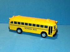 Classical Die Cast School Bus 5' L Pull Back Action