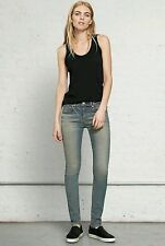 Rag & Bone Designer Women High Rise Skinny Jeans • Clean Street Water • Size 27