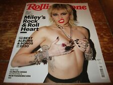 NEW RETAIL Rolling Stone Magazine # 1347 January 2021 Issue Miley Cyrus Topless