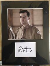 Ron Livingston Autograph Band Of Brothers Signed 16x12 Display Aftal