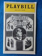The Crucifer Of Blood - Helen Hayes Playbill - January 1979 - Glenn Close