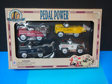 Pedal Power Die Cast 1:10 Scale Plane, Taxi, Loaded Truck, Oil Tanker