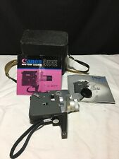 Vintage Canon 8mm Movie Motor Zoom 8 EEE Camera W/ Case 1960s TESTED (But Read!)