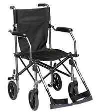 Drive Medical Transportstuhl,Breite 57 cm Rollstuhl,Faltrollstuhl,Reiserollstuhl
