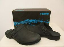 d2acfcce7d12 TEVA De la Vina Mule CLOG LEATHER Shoes 6.5US BLACK Leather NWOB MSRP  100