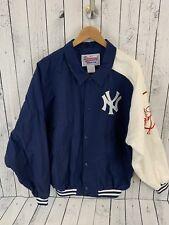 VTG 90s Starter Diamond Collection NY Yankees Snap Button Jacket Men's Size M
