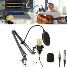 Profi Podcast Set Studiomikrofon Set Großmembran Kondensatormikrofon + Halterung