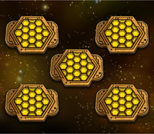 Star Wars: X-Wing Miniature Games Metal Scum Shield Tokens -- Broken Egg Games