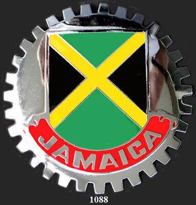 CAR GRILLE EMBLEM BADGES - JAMACIA(FLAG)