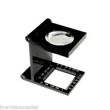 UltraOptix Linen Tester Loupe Magnifier great for Maps or Detailed Drawings