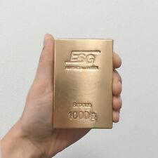 Bronze Bronzebarren ESG 1 Kg 1000 Gramm Alternative Investment Metalle Rohstoff