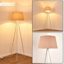 Lampadaire Retro Lampe sur pied Lampe de chambre à coucher Lampe liseuse Tissu