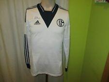 "FC Schalke 04 Adidas Langarm Spieler Version Trikot 2013/14 ""ohne Sponsor"" Gr.M"