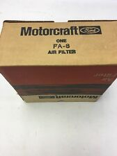 NEW Old Stock Obsolete Air Filter Motorcraft FA-8R/ FA-8
