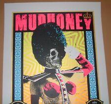 Adam Pobiak Mudhoney London England Poster Print Signed Numbered Art 2013