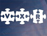 VXR JIGSAW Novelty Vauxhall/Opel Car/Window/Bumper Stickers - Various Colours