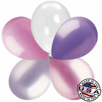 "52 pc 11"" Pink & Lavender Garland Latex Balloon Party Decoration Happy Birthday"