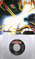DEF LEPPARD  Animal / I Wanna Be Your Hero (nonLP track) 45 with PicSleeve