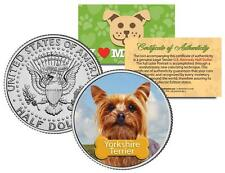 "YORKSHIRE TERRIER U.S. JFK HALF ""The Dogs"" COIN"