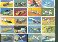 """1981   WILLS   EMBASSY   """"WORLD   OF   SPEED""""   COMPLETE   SET   (36)   LOOSE"""