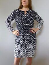 081788bb762 K Design M unused black white stretch short dress excellent
