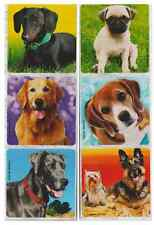 """30 Adorable Dog / Puppy Stickers, Assorted 2.5"""" x 2.5"""" each, Party Favors"""