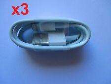 3x USB Ladekabel Lightning Kabel Ladegerät für Original iPhone 5 alle Modelle