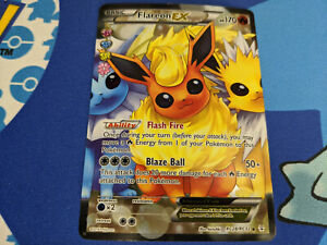 Pokemon TCG Flareon EX RC28/RC32 Near Mint (NM) Holo Rare