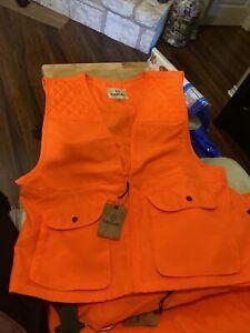 Magellan Mens Basic Game Vest Blaze Orange 2XL