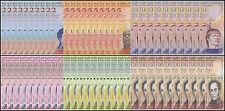 Venezuela 2 - 100 Bolivares X 6 Pieces (PCS) X 10 Set, 2007-2016, P-88T93, UNC
